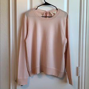 Cupio Pink Knit Top NWOT